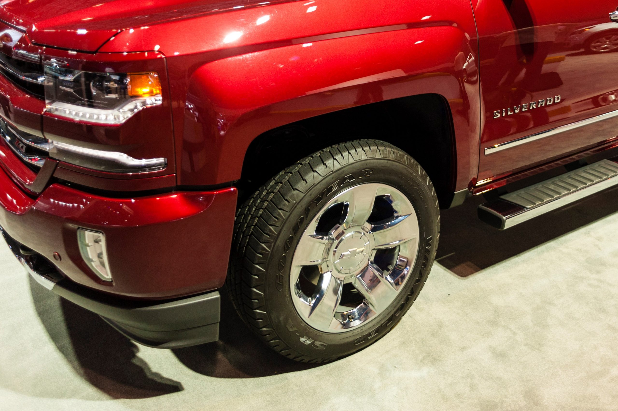 Image of Chevrolet Silverado Tire Near You