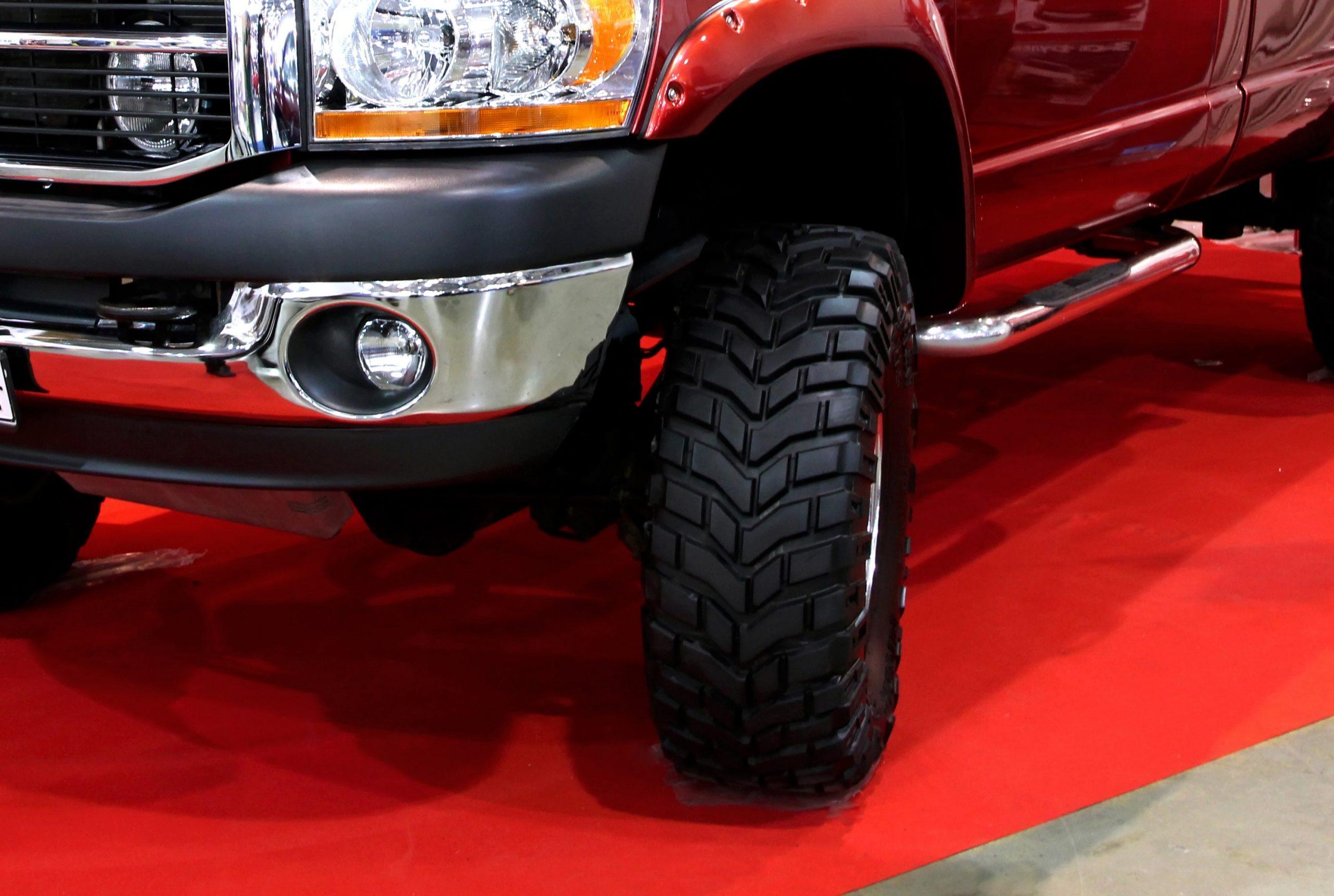Image Dodge Ram tires near you